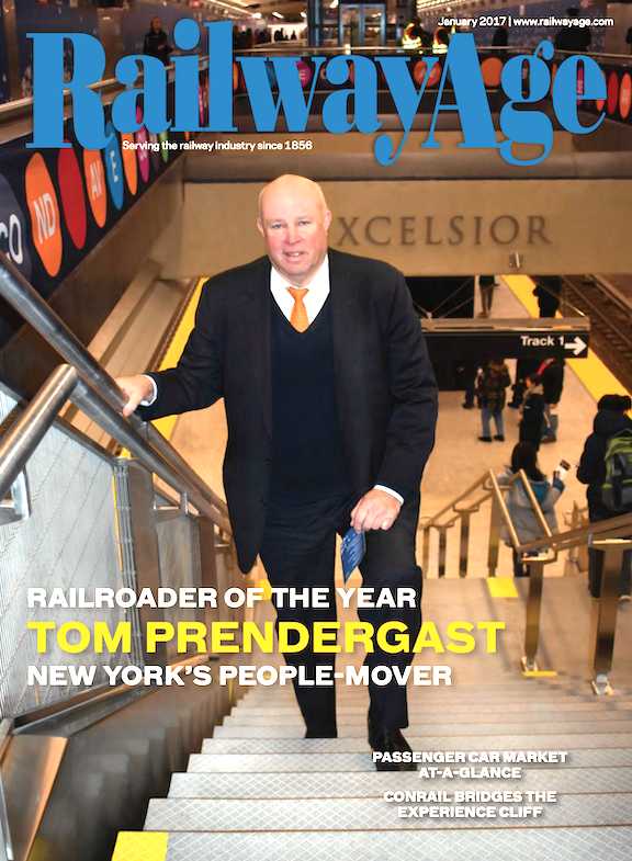 January 2017 issue of Railway Age