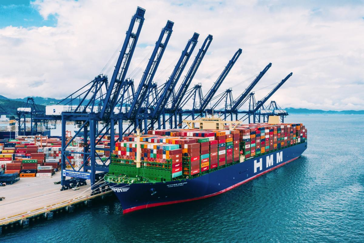 HMM: New Record Container Load Bound For Europe