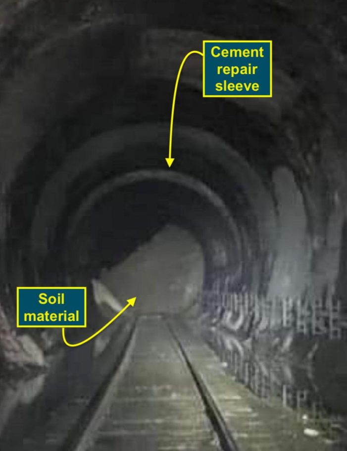 PAS: Hoosac Detour Working Well; Tunnel Getting Worse; NS Optimistic Line Will Reopen In A Week