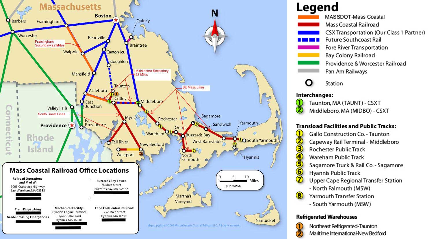 MVRR map