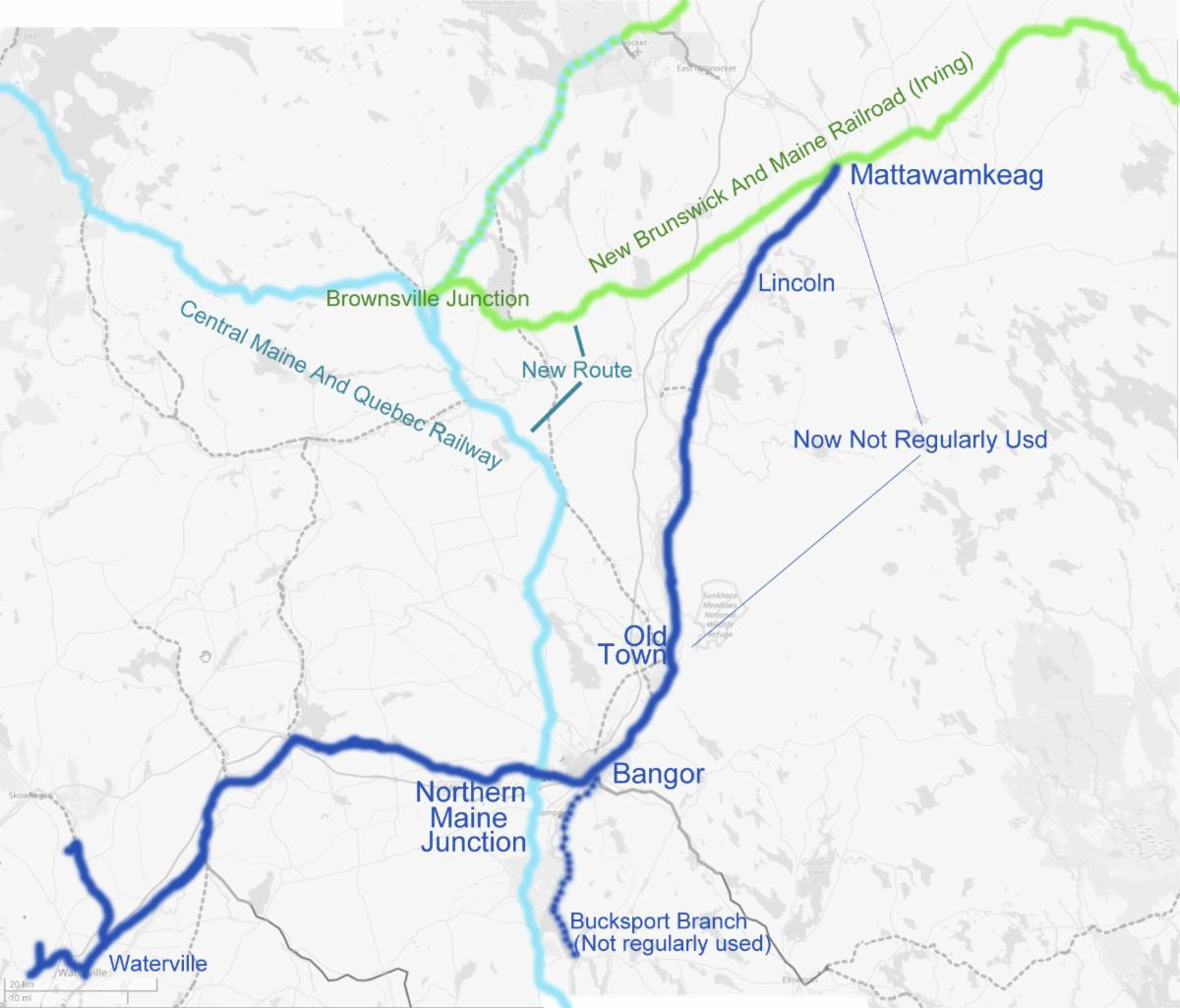 PAR: Ups And Downs On The Mattawamkeag Line