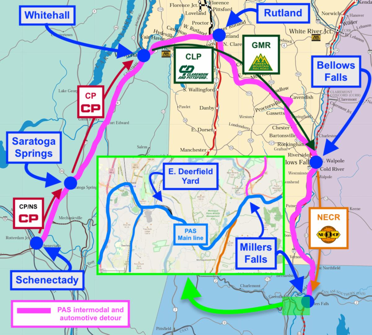 PAS: Hoosac Fix Delay Spurs New IM/Auto Detour