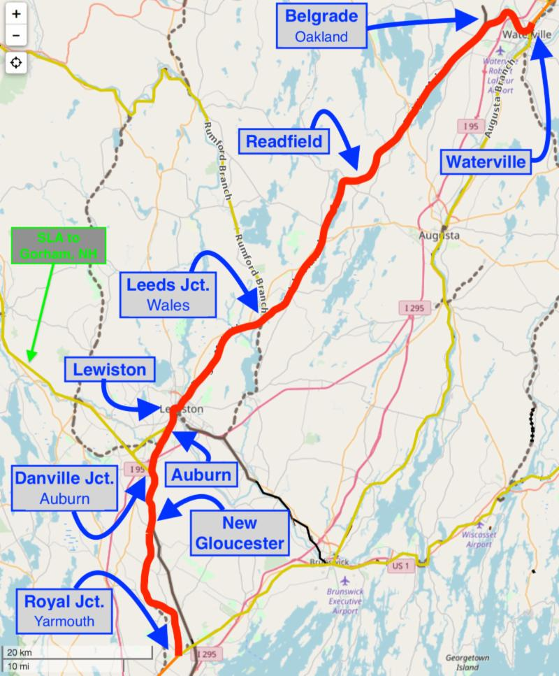 MEDOT/PAR: FRA Grants $17.5m To Upgrade Maine Mainline UPDATE: Scheduling, plus track, switch, crossing, signal upgrades