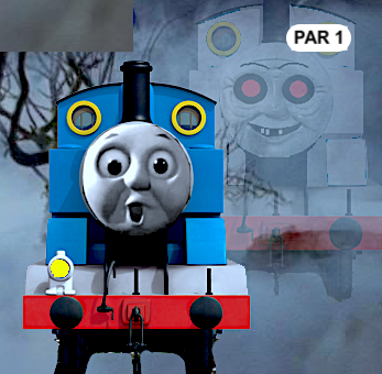 Thomas the Tank Engine haunted by ghost train
