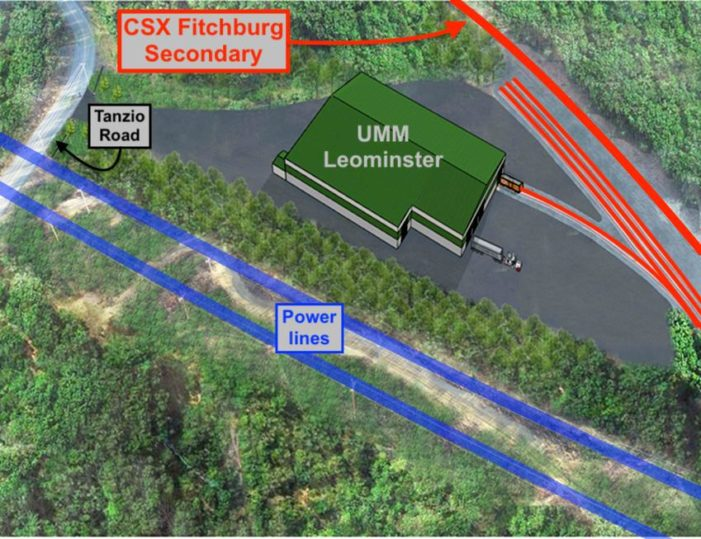 CSX: New Leominster Waste Site To Roll 100+ Cars/Mo