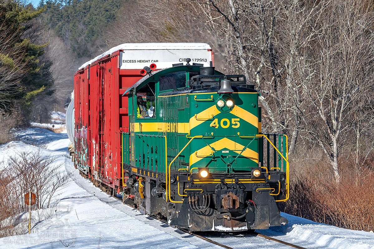VRS: ALCO #405 Into Winter Service For Customer