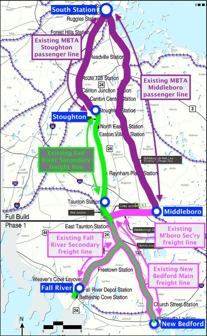 MBTA: South Coast Rail Phase One Contracts Awarded