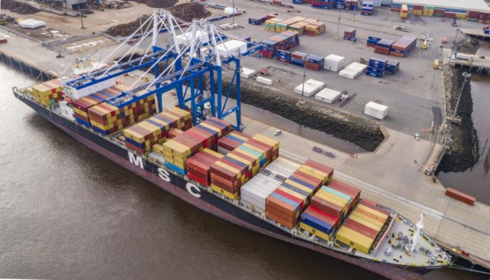 CP Aims for 2023 Saint John 800,000 TEU Capacity Terminal