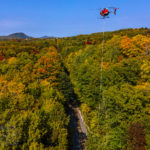 Amtrak-Funded Helicopter Tree Trimming Operation Wrapped Up in Vermont…