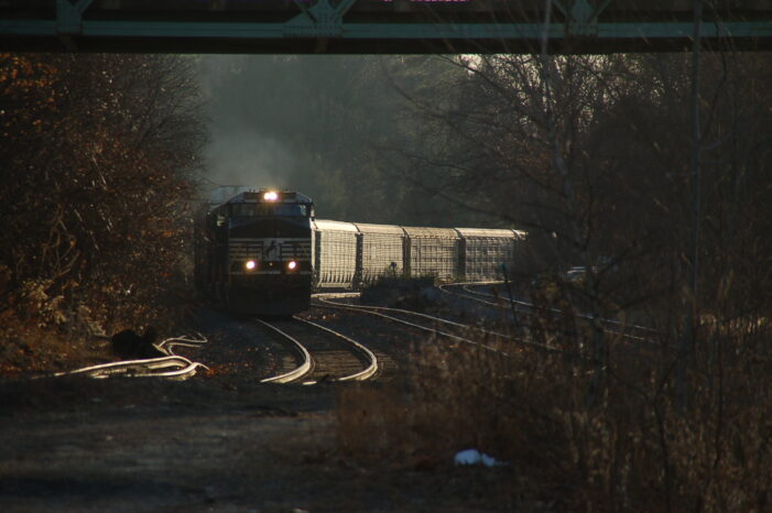 NS New England Intermodal and Automotive Traffic Up Despite 3Q Numbers