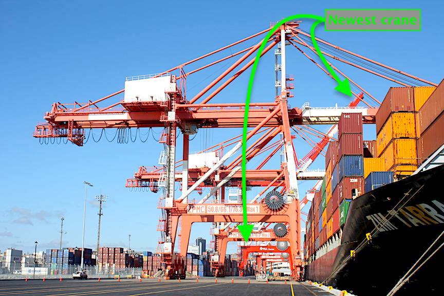 Port of Halifax South End Container Terminal Quay