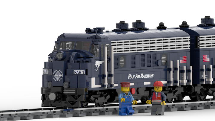 Immortalize the Pan Am Office Car Special in LEGO!