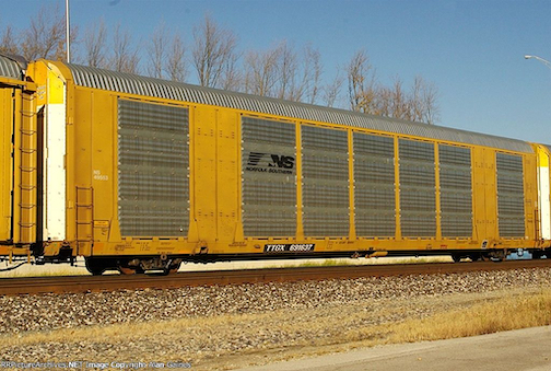 NS: Dedicated Auto Rack Pair Wins Back New England Traffic
