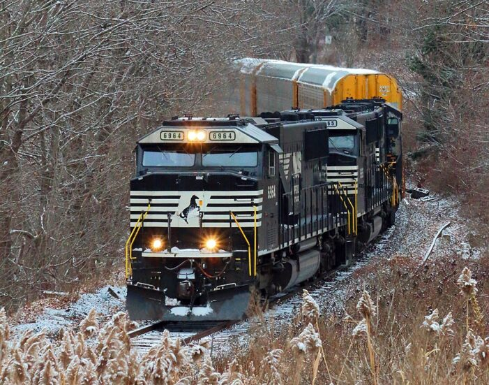 "NS: Ayer Container Traffic Temporarily ""Frozen"""