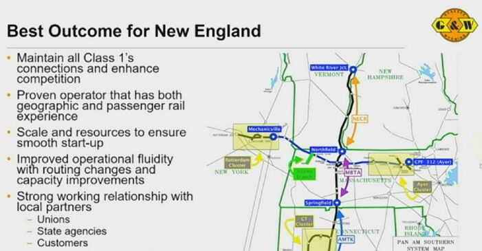 CSX: Pan Am Sale Filing Being 'Perfected' Before Presentation to STB